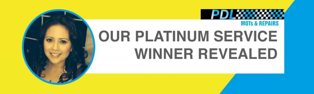 Our Platinum Service Winner