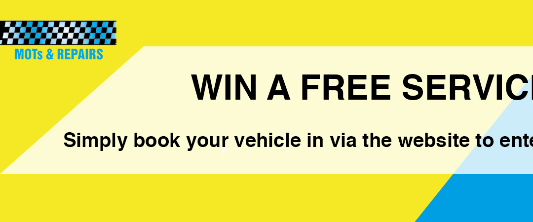Win A Free Service When You Book Online